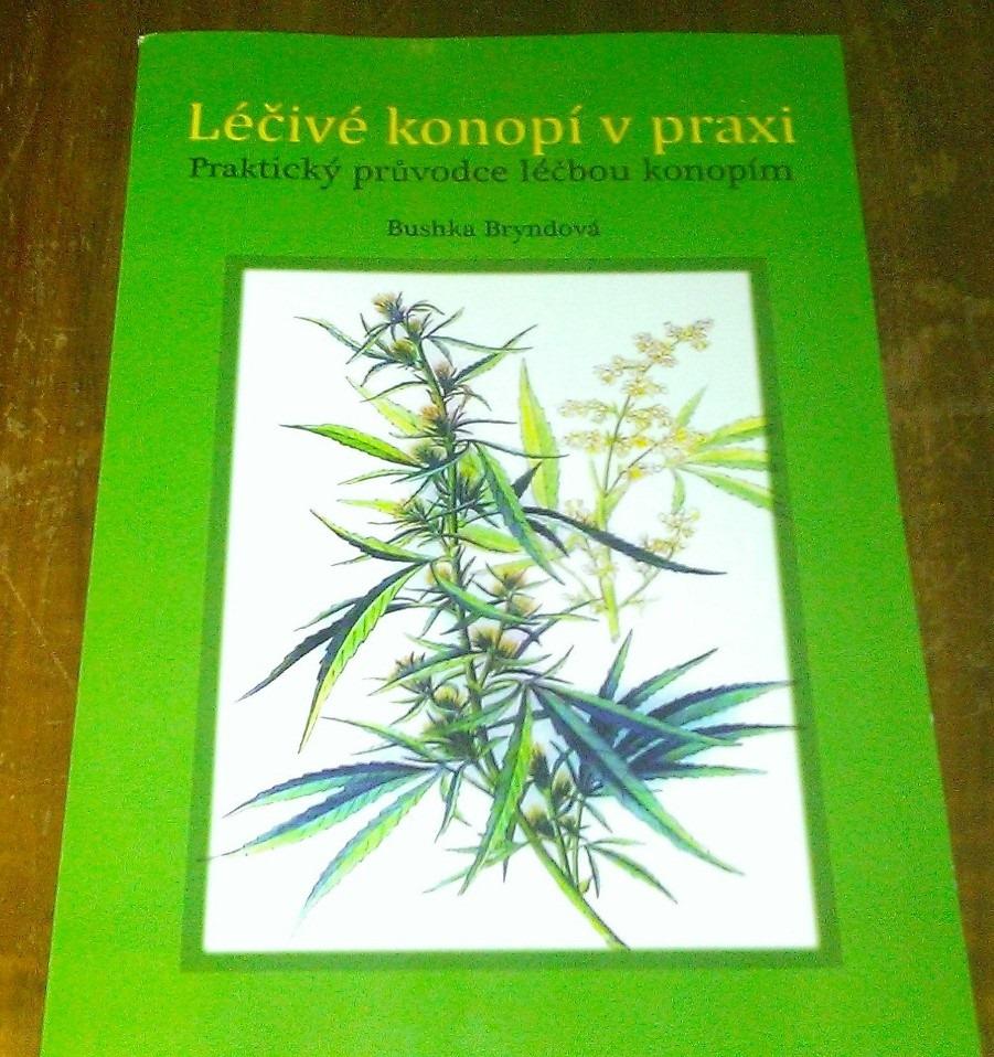 Přednáška Bushky Bryndové o léčbě konopím v Praze 4.3.